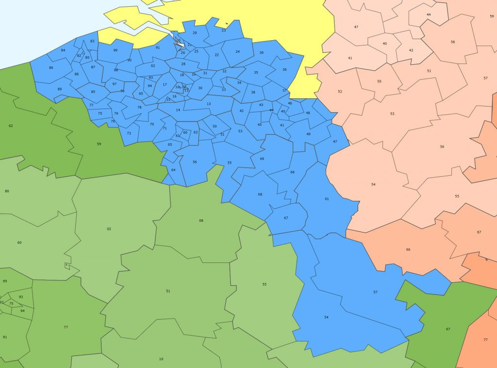 Fabry - Belgique - Luxembourg - Lorraine
